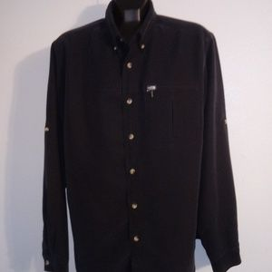 The North Face Black Button-up L/S Shirt Large